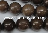 CRO433 15.5 inches 16mm round purple aventurine beads wholesale