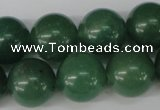 CRO434 15.5 inches 16mm round green aventurine beads wholesale