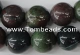 CRO438 15.5 inches 16mm round Indian agate beads wholesale