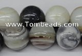 CRO481 15.5 inches 18mm round agate gemstone beads wholesale