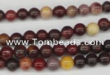 CRO49 15.5 inches 6mm round mookaite gemstone beads wholesale