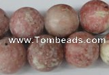 CRO496 15.5 inches 18mm round jasper gemstone beads wholesale