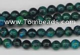 CRO50 15.5 inches 6mm round dyed chrysocolla beads wholesale