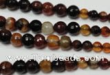 CRO701 15.5 inches 6mm � 14mm faceted round dream agate beads
