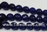 CRO715 15.5 inches 6mm – 14mm faceted round candy jade beads