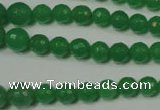 CRO717 15.5 inches 6mm � 14mm faceted round candy jade beads