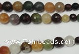 CRO723 15.5 inches 6mm � 14mm faceted round mixed candy jade beads