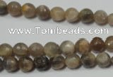 CRO730 15.5 inches 6mm � 14mm faceted round moonstone gemstone beads