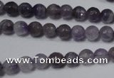 CRO738 15.5 inches 6mm � 14mm faceted round amethyst beads