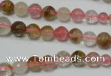 CRO746 15.5 inches 6mm � 14mm faceted round watermelon beads