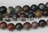 CRO82 15.5 inches 8mm round Indian agate gemstone beads wholesale