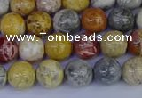 CRO862 15.5 inches 8mm round sky eye stone beads wholesale