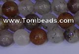 CRO892 15.5 inches 8mm round mixed rylated quartz beads wholesale