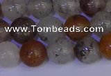 CRO894 15.5 inches 12mm round mixed rylated quartz beads wholesale
