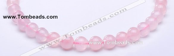 CRQ16 15.5 inches 10mm round natural rose quartz beads Wholesale