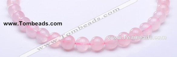 CRQ25 15.5 inches 4mm round natural rose quartz beads Wholesale