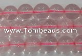 CRQ310 15.5 inches 10mm round natural rose quartz beads