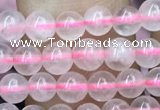 CRQ415 15.5 inches 4mm round rose quartz beads wholesale