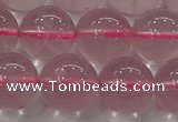 CRQ852 15.5 inches 10mm round natural rose quartz gemstone beads