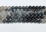 CRU1002 15.5 inches 10mm round mixed rutilated quartz beads