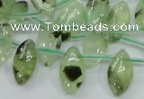 CRU136 15.5 inches 9*17mm marquise green rutilated quartz beads