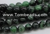 CRZ02 15.5 inches 8mm round ruby zoisite gemstone beads Wholesale