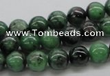 CRZ03 15.5 inches 10mm round ruby zoisite gemstone beads Wholesale