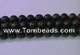 CRZ1115 15.5 inches 14mm round imitation ruby zoisite beads wholesale