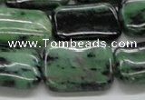 CRZ18 15.5 inches 18*25mm rectangle ruby zoisite gemstone beads