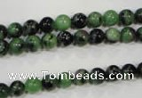 CRZ451 15.5 inches 6mm round ruby zoisite gemstone beads