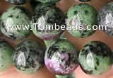 CRZ773 15.5 inches 10mm round ruby zoisite beads wholesale