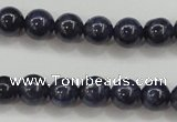 CRZ822 15.5 inches 6mm round natural sapphire gemstone beads
