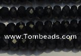 CRZ983 15.5 inches 3*5mm faceted rondelle AA grade sapphire beads
