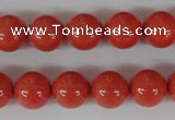 CSB102 15.5 inches 12mm round shell pearl beads wholesale