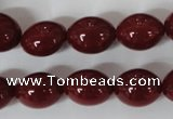 CSB122 15.5 inches 12*15mm rice shell pearl beads wholesale