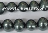 CSB148 15.5 inches 12*15mm – 13*16mm oval shell pearl beads