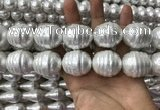 CSB2128 15.5 inches 26*30mm baroque shell pearl beads wholesale