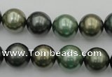 CSB385 15.5 inches 14mm round mixed color shell pearl beads