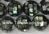 CSB4007 15.5 inches 8mm ball abalone shell beads wholesale