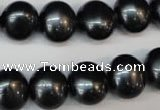 CSB818 15.5 inches 13*15mm oval shell pearl beads wholesale