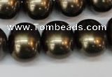 CSB837 15.5 inches 16*19mm oval shell pearl beads wholesale