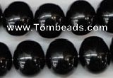 CSB840 15.5 inches 16*19mm oval shell pearl beads wholesale