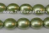 CSB881 15.5 inches 13*15mm nuggets shell pearl beads wholesale