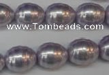 CSB888 15.5 inches 13*16mm whorl teardrop shell pearl beads wholesale