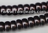CSB902 15.5 inches 6*12mm rondelle shell pearl beads wholesale