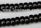 CSB903 15.5 inches 6*12mm rondelle shell pearl beads wholesale