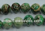 CSE223 15.5 inches 18mm round dyed natural sea sediment jasper beads