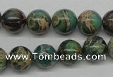 CSE5005 15.5 inches 12mm round natural sea sediment jasper beads