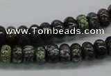 CSG54 15.5 inches 5*10mm rondelle long spar gemstone beads wholesale