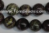 CSG68 15.5 inches 14mm round long spar gemstone beads wholesale